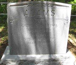 """Susan M. """"Suzie"""" <I>Smith</I> Adams"""