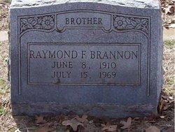 Raymond F Brannon