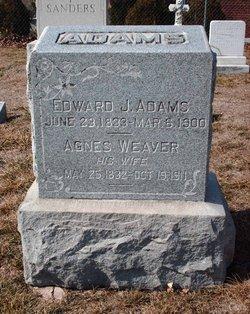 Agnes <I>Weaver</I> Adams