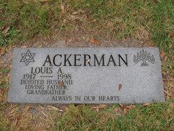 Louis A Ackerman
