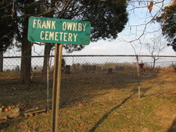 Frank Ownby Cemetery