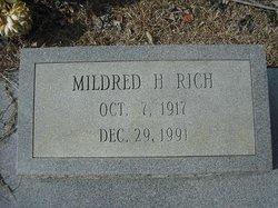Mildred <I>Holder</I> Rich