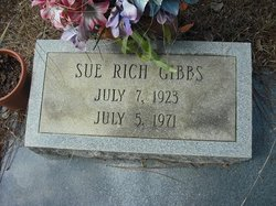 Sue <I>Rich</I> Gibbs