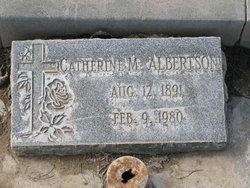 Catherine Marie Albertson