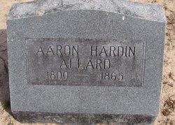 Aaron Hardin Allard