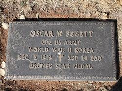 """Oscar Woodsie """"Dub"""" Fegett"""