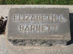 Elizabeth L Barnett