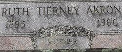 Ruth Mary <I>Tierney</I> Akron