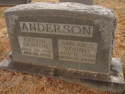 """Calvin Denton """"Cab"""" Anderson"""