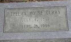 Thelma <I>House</I> Curry