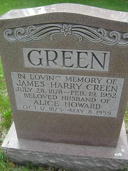 Alice <I>Howard</I> Green