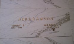 Merrill Leroy Abrahamson