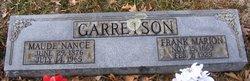 Sallie Maude <I>Nance</I> Garretson