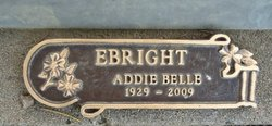 Addie Belle <I>Rubert</I> Ebright
