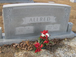Alice <I>Leonard</I> Allred