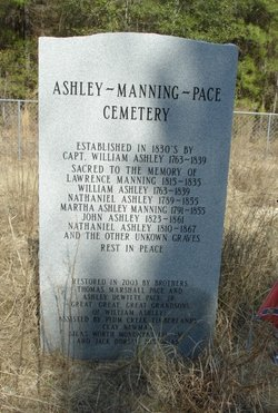 Ashley-Manning-Pace Cemetery