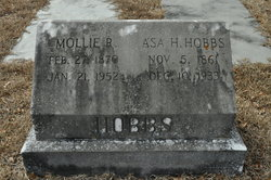 """Mary Frances """"Mollie"""" <I>Rich</I> Hobbs"""