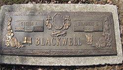 Cecile Fae <I>Ferguson</I> Blackwell