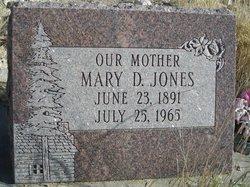 Mary Delpha <I>Bronson</I> Jones