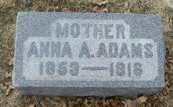 Anna <I>Preston</I> Adams