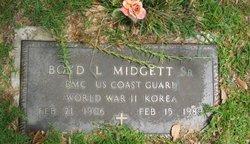Boyd Levene Midgett, Sr