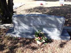 Mabel <I>Clark</I> Cox