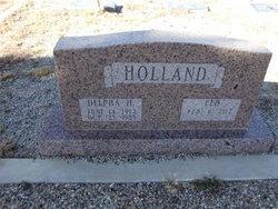 Delpha <I>Harkey</I> Holland