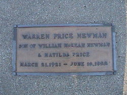 Warren Price Newman