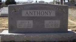Ben F Anthony