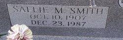Sallie M. <I>Smith</I> Hudson