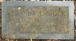 Amanda I. <I>Copeland</I> Brock
