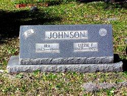 """Elizabeth Faith """"Lizzie"""" <I>Foster</I> Johnson"""