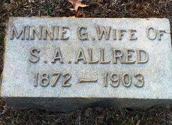 Minnie G <I>Trogdon</I> Allred