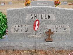 Virgil S. Snider