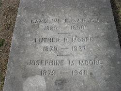 """Caroline Winston """"Carrie"""" <I>Edmunds</I> Barton"""