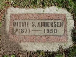 Minnie Sophie <I>Klett</I> Andersen