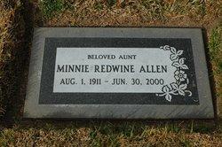 Minnie Zula <I>Redwine</I> Allen