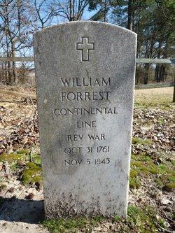Pvt William Forrest