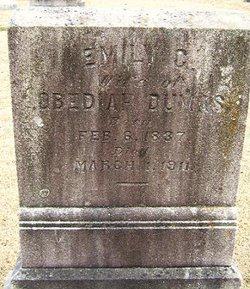 Emily C <I>Reid</I> Dumas