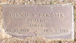 Dennis Wayne Banister