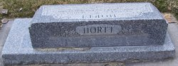 Eva Ann <I>Brown</I> Hortt