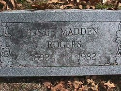 Bessie <I>Madden</I> Rogers