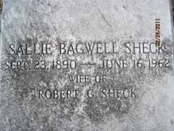 Sallie <I>Bagwell</I> Sheck
