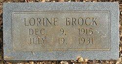 Lorine Brock