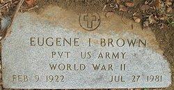 Eugene Irvin Brown