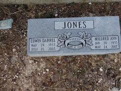Mildred Ann <I>Haynes</I> Jones