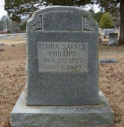 Flora <I>Savage</I> Phillips