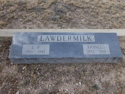"Lavina Frances ""Fannie"" <I>Barry</I> Lawdermilk"