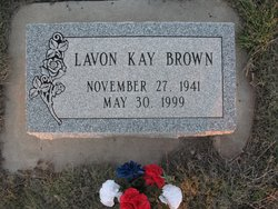 LaVon Kay <I>Vick</I> Brown