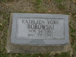 Kathleen <I>York</I> Borowski